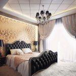 Ý tưởng trang trí phòng ngủ với giấy dán tường đa họa tiết