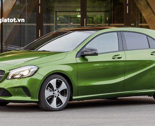 Giá xe Mercedes A200 mới nhất tại thị trường Việt Nam.