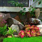 Tiểu cảnh sân vườn khô dễ thực hiện và rất đẹp mắt